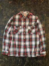 40-50'S McGREGOR CHECK LOOP SHIRT