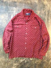 90-00'S POLO RALPH LAUREN RAYON LOOP COLLAR SHIRT