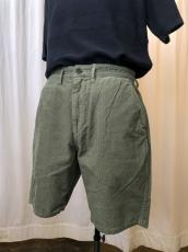 DWELLER CHINO SHORTS USUAL FIT COTTON CORD OVERDYE