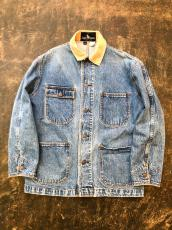 80'S POLO RALPH LAUREN DENIM CHORE JACKET