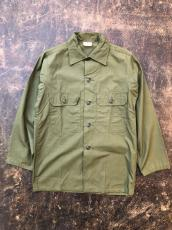 60'S TROOPER POPLIN UTILITY SHIRT DEADSTOCK
