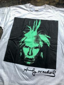NOS 90's Andy Warhol T-shirt