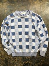 UNITED STATES SWEATERS COTTON PATCHWORK SWEATER