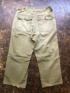 US MILITARY M-47 HBT TROUSERS