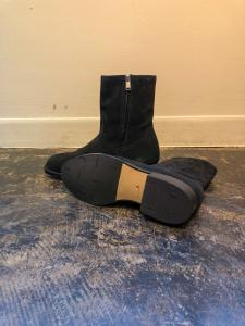 RANCHER ZIP UP BOOTS COW LEATHER